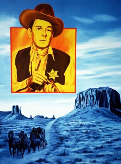 Ronald Reagan by Hector-Monroy